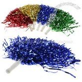 Plastic cheerleader pom poms, nice and fluffy - DIY costumes