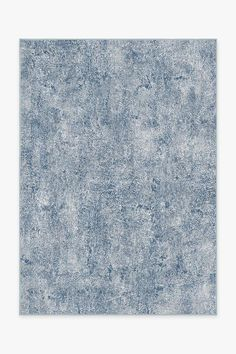 Granite Ombre Slate Blue Rug In 2019 Washable Rugs