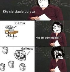 FunnyAnd offers the best funny pictures, memes, comics, quotes, jokes like - Galileo Galilei Derp Comics, Rage Comics, Funny Comics, Wtf Funny, Funny Cute, Funny Jokes, Hilarious, Best Funny Pictures, Funny Images