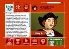 Brain Pop Christopher Columbus