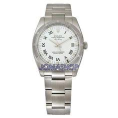 Rolex Airking White Roman Dial Engine Turned Bezel Mens Watch 114210WRO (Watch)  http://www.amazon.com/dp/B0014492M8/?tag=iphonreplacem-20  B0014492M8