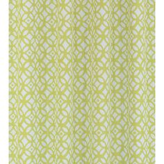 Madison Chartreuse Shower Curtain, Liner, Hooks Set | Overstock.com