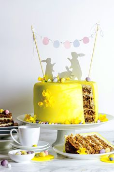 Best Ever Easter Carrot Cake with Pineapples and Cream Cheese Frosting