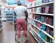 #WALMART #PEOPLE - Really? This Works For Him…