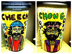 Cheech and Chong Set by Riz #cheechandchong #marijuana #cali  #maryjane  #420 #blunts #stoner  #oil #highsociety #marijuanasmoke #stayfaded #shatter  #chronic #doob #bud #bong #420friendly #kush #joint #thc  #ganja #wax #kief #smoke #420 #dabs #blunt #hippie #laugh  #danknugs   #sketch #illustration  #cheech #art  #pipe #dabwizardarmy #bubbler #rollies #crossjoint #dabwizard #smoker  #stayhigh  #pothead  #indica #fiftyshadeofpurplegold #stonerlife #mrsmokey #dabslife #sativa #stonercommunity