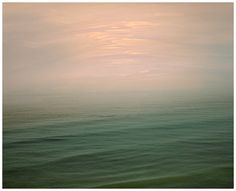 Abstract sea sky photography - Sea print - seascape - Ocean landscape - pink green large wall art - living room decor - nature 16x20 - 24x30 on Etsy, $30.00