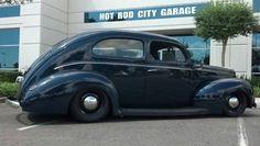 NATESBPD's 1940 Ford sedan