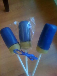 Shotgun Shells Cake Pops from Jenspopshoppe.com