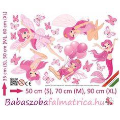 Rózsaszín tündérek falmatrica szett #babaszoba #tündér #falmatrica #gyerek #gyerekszoba #faldekoráció #pink #kislány Pink, Movie Posters, Art, Art Background, Film Poster, Kunst, Performing Arts, Pink Hair, Roses