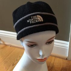 NORTHFACE FLEECE HAT CAP NORTH FACE black hat The North Face Accessories Hats