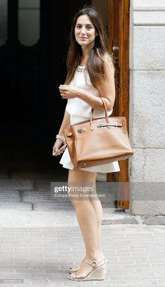 Tamara Falco is seen on June 2014 in Madrid, Spain. Get premium, high resolution news photos at Getty Images Fashion Bags, Fashion Beauty, Womens Fashion, Madrid, Hermes Kelly, Spain, My Favorite Things, Style Ideas, How To Wear