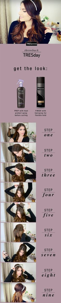 Kayleigh Prince | Retro Holiday Hair Tutorial