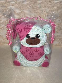 This special diaper bear is a wonderful gift for birth, for . - This special diaper bear is a wonderful gift for birth, baptism or a baby shower. Baby Shower Gifts, Baby Gifts, Birth Gift, Holiday Break, Baby Milestones, You Are The Father, Couches, Birthday Gifts, Diaper Change