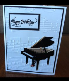 Music Card and envelope by Fielder - Cards and Paper Crafts at Splitcoaststampers