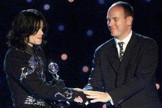 Receiving the Artist of the Millennium  Award
