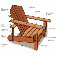 Make your own Adirondack Chairs