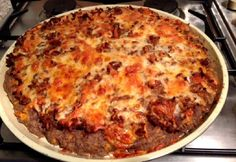 Paleo pizza paleostrawberry konyhájából