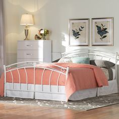 Found it at Wayfair - Bearse Metal Bed