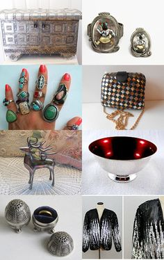 Sparkling Silver with Epsteam! by Sara B. on Etsy--Pinned #epsteam with TreasuryPin.com