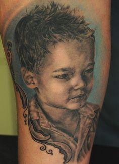 Tattoo by Andy Engel German Tattoo, The Good German, Piercing Studio, Beautiful Body, Regrets, Tattoo Artists, Body Art, Ink, Portrait