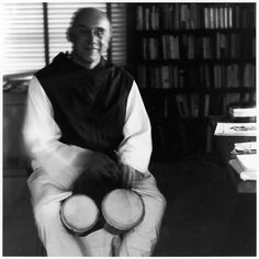 """""""To allow oneself to be carried away by a multitude of conflicting concerns, to surrender to too many demands, to commit oneself to too many projects, to want to help everyone in everything is to succumb to the violence of our time."""" Thomas Merton (photo by Ralph Eugene Meatyard)"""