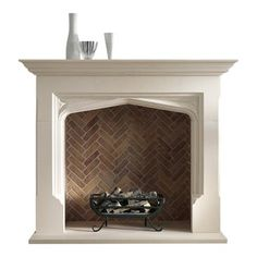Creative And Inexpensive Cool Ideas: Fireplace Garden Summer marble fireplace sconces.Fireplace Design Ideas fireplace and tv moldings.Fireplace Built Ins With Desk. Transitional Fireplace Mantels, Farmhouse Fireplace Mantels, Fireplace Hearth, Fireplace Mantle, Fireplace Surrounds, Fireplace Design, Tiled Fireplace, Craftsman Fireplace, Fireplace Ideas