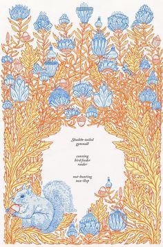 Anna Higgie | Illustrator | Central Illustration Agency #decorative #detail #pattern #illustration