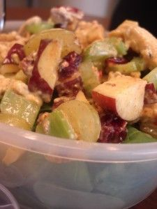 Crunchy Sweet Apple Chicken Salad