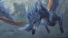 ArtStation - Singer of The Mysterious Song, Joshua Raphael Monster Hunter Series, Monster Hunter Art, Monster Art, Fantasy Dragon, Dragon Art, Fantasy Art, Fantasy Creatures, Mythical Creatures, Monster Hunter World Wallpaper