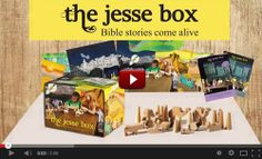 The Jesse Box is an interactive tool for enacting the narrative of salvation history which can be used in a classroom environment, at home, ...