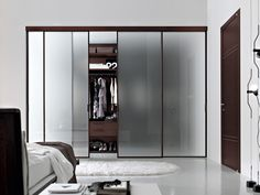 Marvelous Pictures Of Ikea Walk In Closet Design And Decoration : Good Looking Bedroom Closet And Storage Decoration Using Sliding Frosted Glass Closet Door Including Ikea Walk In Closet And Solid Modern Cherry Wood Closet Organizers