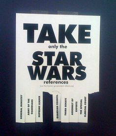 Star Wars nerd flyer