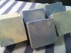Make luxurious bubbly soleseife soap with coconut milk: Finished Coconut Milk Soleseife Soap