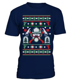UGLY CHRISTMAS SWEATER FOR FIREFIGHTER S  Funny sweater for christmas T-shirt, Best sweater for christmas T-shirt