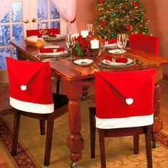 "A great way to make Christmas dinner much merrier! These are a quick and easy way to dress up your holiday table, making the holidays cozier than ever!Size: approximately 26.3"" X 18.9""Made of high quality, soft, durable and safe Non-wove..."