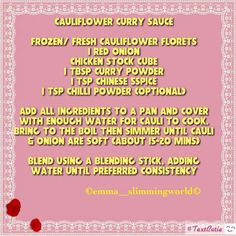 Sp curry sauce