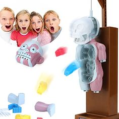Mokasi 4D Puzzles Human Body Assembling Models Funny prank Games Halloween Horrible Toy Gifts for Kids ** See this great product.