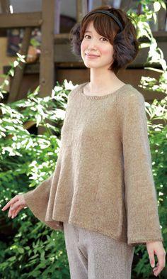 作品♪213fw-02ラグランのセーター