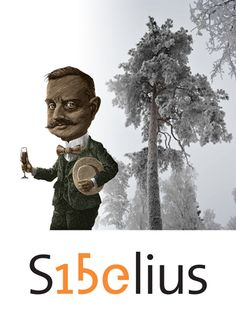 Listen to Sibelius In Helsinki, Finland. QR code by the tree in a park gives you Sibelius piano music on your smart phone.