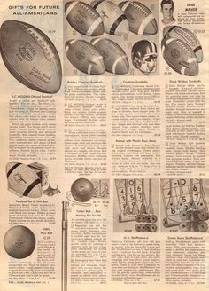 Doak Walker - 1956 Sears Wishbook