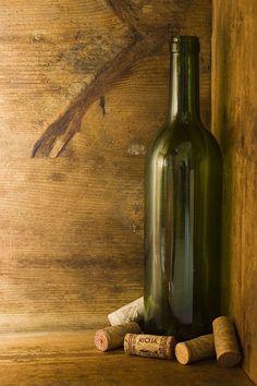 : Wine Bottles by Justin Metz