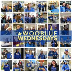 #WooBlue Wednesdays is back! 1) wear school gear 2) tweet/snap/IG ur pic 3) chance to win #WooState swag! Open to all students and employees!