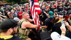 By all indications, Trump won't ever slam violent right-wing and white supremacist groups the way he goes after ANTIFA . Attacking ANTIFA play well with his base. Going after far right-wing groups does not, writes Dean Obeidallah Donald Trump, Ted, Sutra, Political Spectrum, Breaking News Today, Cbs News, Right Wing, At Least, American