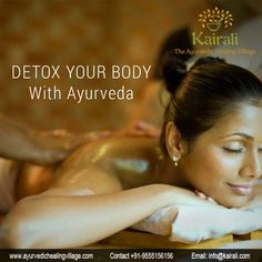 Ayurvedic Rejuvenation and Detoxification treatment therapy at Kairali will Detox Your Body and help release the piled up toxins and guard you from falling victim to varied diseases. Holistic Treatment, Spa Treatments, Ayurvedic Healing, Ayurveda Yoga, Herbal Oil, Detox Your Body, 21 Days
