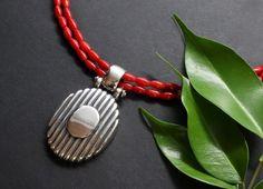 Washer Necklace, Pendant Necklace, Modern, Jewelry, Fashion, Dirndl, Rhinestones, Neck Chain, Silver
