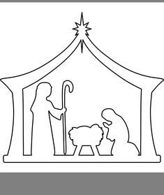 Pin by Darlene Whims on Christmas Christmas Nativity Scene, Christmas Wood, Simple Christmas, Christmas Ornaments, Christmas 2019, Christmas Crafts For Kids To Make, Christmas Activities, Xmas Crafts, Christmas Drawing