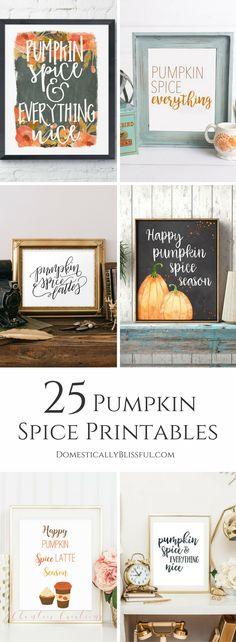 25 Pumpkin Spice Pri
