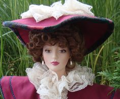 Clarissa -The Gibson Girl in Vogue Franklin Mint Heirloom Dolls
