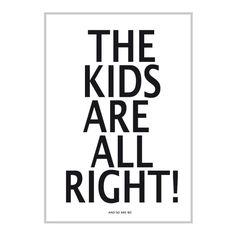 XL Poster Miniwilla The Kids are allright