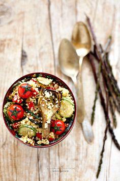 Cous Cous con verdure e Asparagi Selvatici